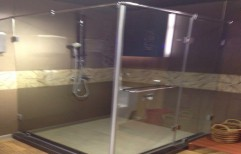 Glass Shower Cubicle Partition by Cordial Associates