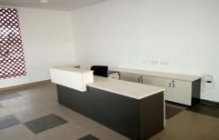 Modular Reception Table by Cordial Associates