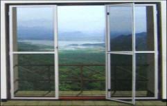 Mosquito Screen Fly Sleek Door by Cordial Associates