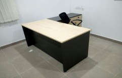 Reception Table With Side Table by Cordial Associates