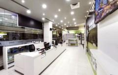 Showroom Interior Designing by Cordial Associates
