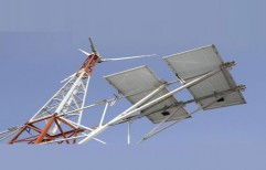 Solar Electricity For Telecom Tower by Veena Enterprises