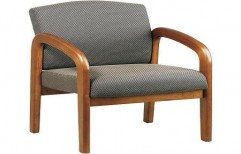 Wooden Reception Chair by Cordial Associates