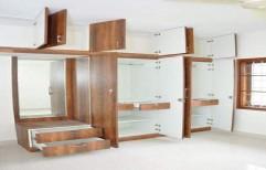 Wooden Wardrobe by Cordial Associates