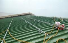 Aluminium Sheet Roof Structure by Sunloop Energy
