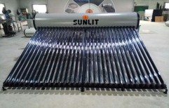 ETC Solar Water Heater 500 LPD by Focusun Energy Systems (Sunlit Group Of Companies)