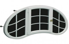 White ARC Window for Domestic Use, Frame Thickness: 10 to 70 mm