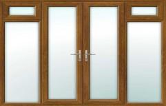 Double Door With Fixed Top Open
