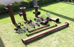 Rubber Lined Pipes by Shroff Process Pumps