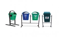 Litter Bins With Permanent Structure by Ajmera Agency
