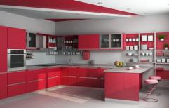 Italian Modular Kitchen by Glasz N Bathz