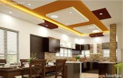 L Shape Modular Kitchen by Chaithanya Interiors