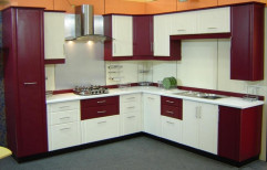 L Shaped Modular Kitchen by CM India