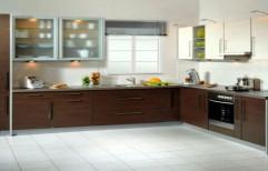 L Shaped Modular Kitchen by Sk Enterprises