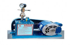 Laboratory High Vacuum Pumps     by Saga Engineering Company