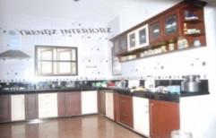 Membrane Modular Kitchen by Trendz Interiorz
