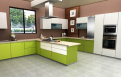 Modern Modular Kitchen by Longlasst Inc