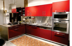Wooden Italian Laminated Modular Kitchen