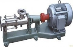 Screw Pump with Motor by Balaji Traders