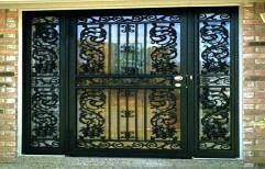 Decorative Door Grill by Sagar Steel Art