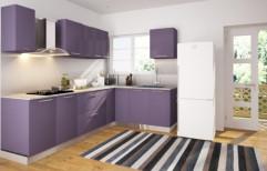 Modern Modular Kitchen by Design Habitat