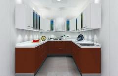 U Shape Modular Kitchen by Square Modules