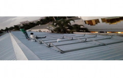 Galvanized Ion Sheet Roof Structure by Sunloop Energy