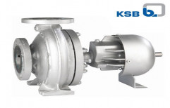 Horizontal End Suction Pump by KSB Pumps Limited