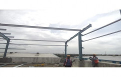 Mild Steel Elevated Rooftop Mounting Structure by Sunloop Energy