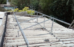 Mild Steel Roof Mounting Structure by Sunloop Energy