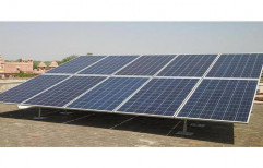 Solar Power Plant Structure by Mac Solar Systems