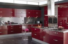 Decorative Modular Kitchen by Shiva Sai Wooden Furnitures