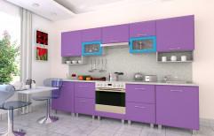 Straight Modular Kitchen by R K Interior