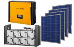 10 KW Hybrid Solar Power Plant by NECA INDIA