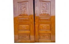 2 Panel Walnut Wood Door    by Fidelity Associates