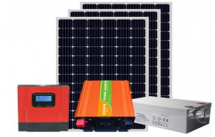 2KW Off Grid Solar Plant by NECA INDIA