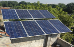 40 KW On Grid Solar Rooftop Plant by NECA INDIA