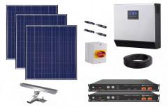 5 KW Hybrid Solar Plant by NECA INDIA