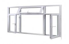 Transparent Aluminium Tilt Window