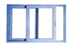 Aluminium Window With  Glass by Jay Aluminum And Glass Center