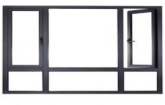 Aluminum Window Partition by Sharma Aluminum & Furniture