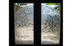 Decorative Glass Door by Pro Consultant