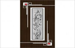 Decorative PVC Door by Faizan Steel & Aluminium