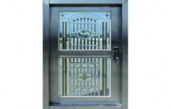 Designer Safety Door    by Omkar Steel Fabricators