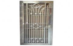 Designer Steel Safety Door    by P. B. Fabricators