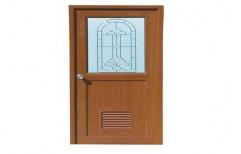 Brown Kitchen PVC Door, Size/Dimension: 7 X 3 feet