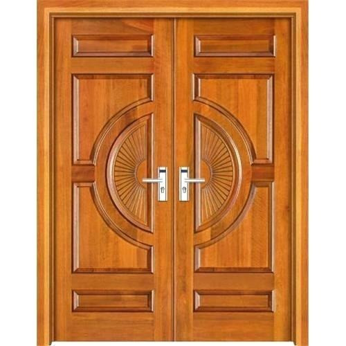 Plywood double door by Woodtech Manufacturers