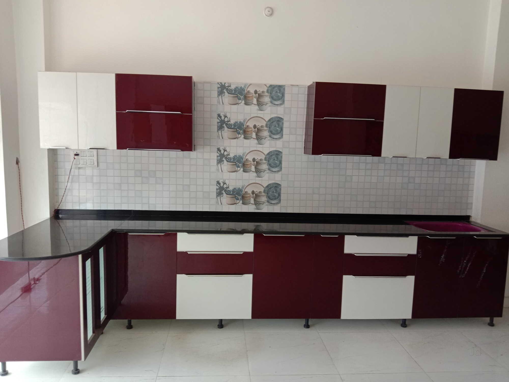 Modern PVC Modular Kitchen   SuppliersPlanet
