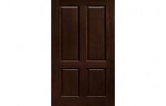 Polished PVC Solid Flush Doors