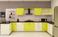 U-Shaped Modular Kitchen by Kairali Trading Company